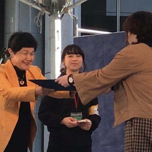 【祝】LINEスタンプ入賞者表彰式を行いました